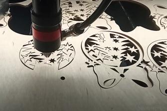 Лазерная резка Фанеры, гравировка